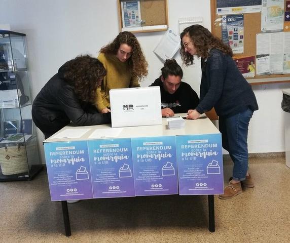 En la consulta han participado un total de 1475 personas (Foto: ReferendumUib)