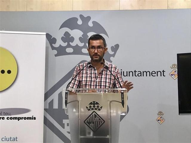 """Según Joan Ferrer la actualización de las tarifas del taxi """"responde a las demandas del sector"""" (Foto: Ayto Palma)"""