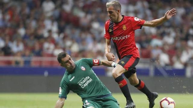 Carlos Castro anotó en la segunda jornada el gol del triunfo barralet ante el Rayo Majadahonda