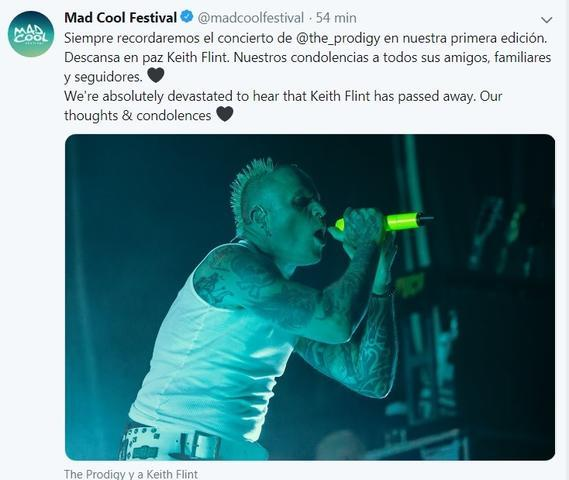 The Prodigy muere el cantante