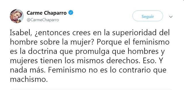 La foto del tuit que ha incendiado las redes en contra de Isabel Rábago