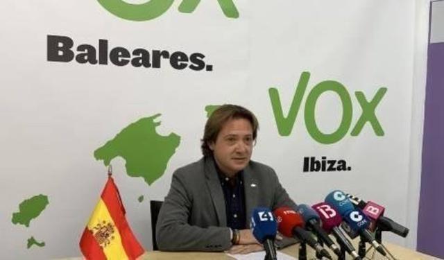 El presidente de Vox en Baleares, Jorge Campos (Foto: Vox)