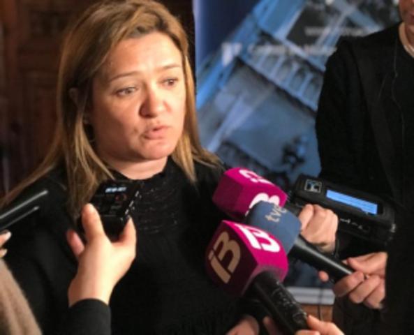 La consellera de Territorio e Infraestructuras del Consell de Mallorca, Mercedes Garrido (Foto: Europa Press)