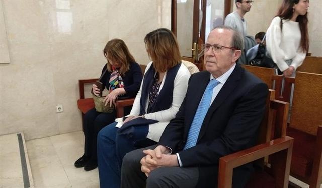 Rodríguez en la última sesión del 'caso Over' (Foto: Europa Press)