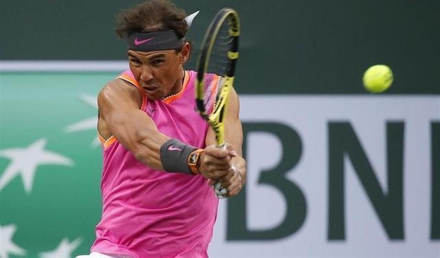 Nadal ha logrado imponer su tenis a pesar de las molestias en una de sus rodillas (Foto: EP)