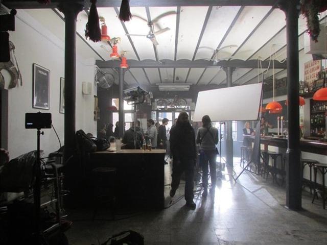 Imagen de uno de los rodajes (Foto: Mallorca Film Commission)