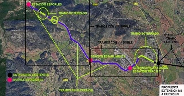 La propuesta serviría para conectar Palma y la Serra de Tramuntana (Foto: UXC)