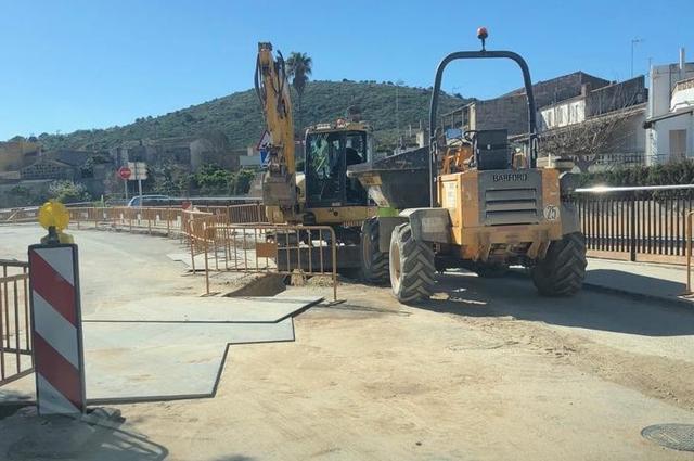 El consistorio espera que las obras finalicen el próximo mes de abril (Foto: Ayto Sant Llorenç)