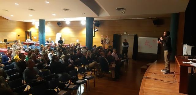 Alejo Ecoca, CEO de FDSA programación, durante su conferencia (Foto: Ayto Calvià)
