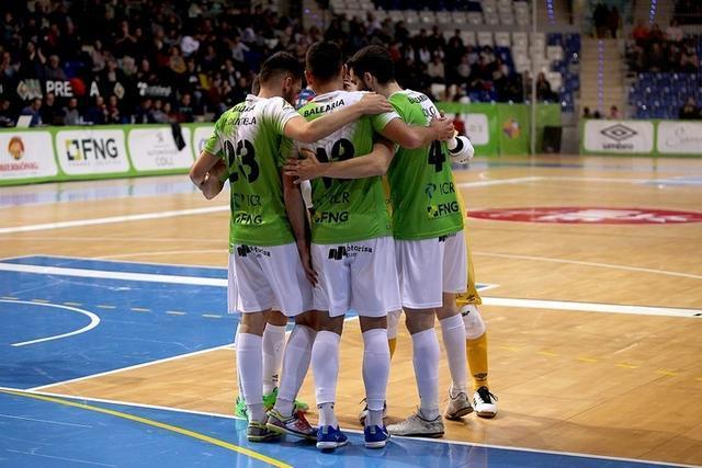 Los mallorquines lucharán por la Liga por quinto curso consecutivo (Foto: Palma Futsal)