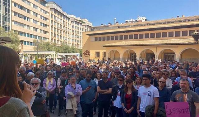 La concentración ha tenido lugar en la Plaça de l´Olivar (Foto: EP)