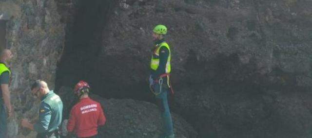 El cuerpo del joven ha sido hallado en las rocas (Foto: Guardia Civil)