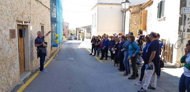 La ruta y la caminata han combinado deporte y cultura (Foto: Ayto Calvià)