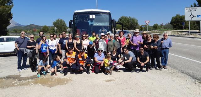 Los participantes han conocido uno poco más de la historia de su municipio (Foto: Ayto Calvià)