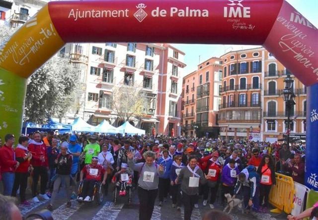 La caminata popular ha registrado una gran participación (Foto: IME)