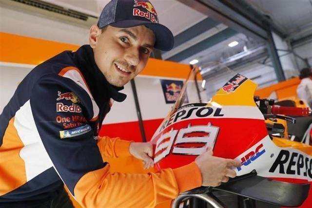 El piloto mallorquín del equipo Repsol Honda, Jorge Lorenzo (Foto: EP)