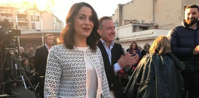 La líder de Ciudadanos (Cs) en Cataluña y portavoz nacional del partido, Inés Arrimadas