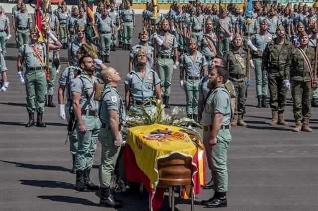 El acto ha tenido lugar en la base militar Álvarez de Sotomayor de Viator en Almería (Foto: EP)