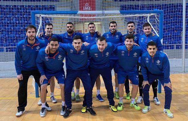 El Palma aspira a acabar la jornada en la tercera plaza (Foto: Palma Futsal)