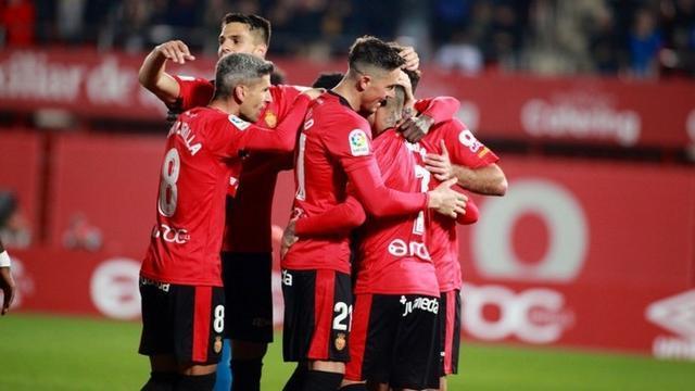 El Mallorca intentará conquistar en Córdoba la cuarta victoria consecutiva tras sus triunfos ante Oviedo, Las Palmas y Real Zaragoza (Foto: RCDM)