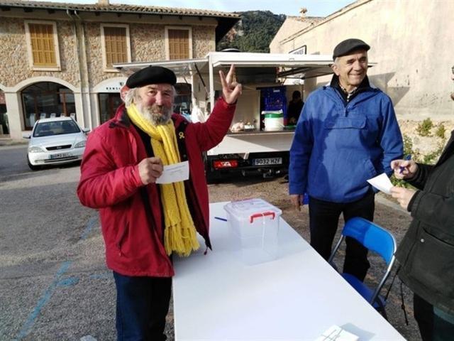 En la consulta de este domingo han participado un total de 123 personas (Foto: EP)