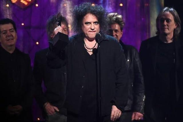 The Cure ha entrado este año en el Salón de la Fama del Rock & Roll