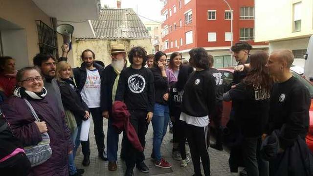 Miembros de la plataforma en una imagen de archivo