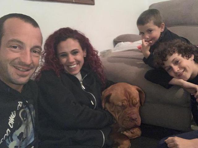 Duna vuelve a estar con su familia humana