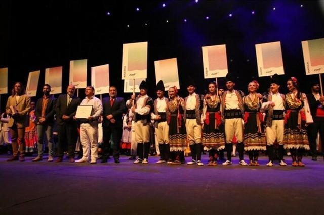 El grupo de Ensemble Pirin de Bulgaria, vencedor del certamen (Foto: CIM)
