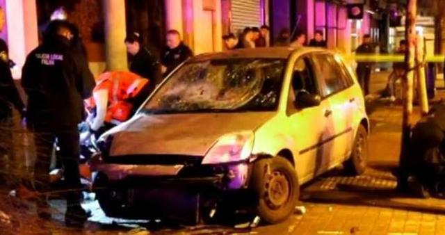 El coche con el que el detenido cometió su locura figuraba como robado