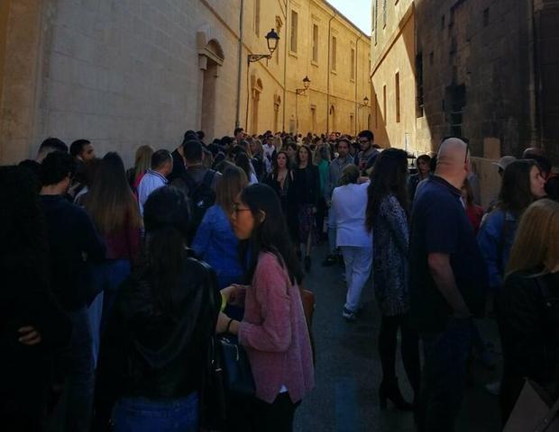 La convocatoria ha sido todo un éxito (Foto: MallorcaFilmCommission)