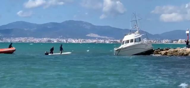 Momento del rescate (Foto: Youtube Torpedo)