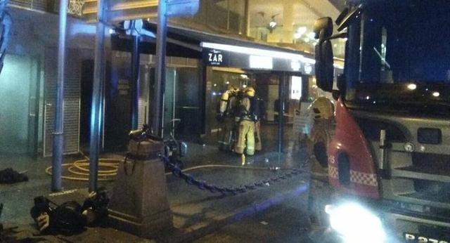 Los Bombers de Palma han sofocado rapidamente las llamas (Foto: Bombers Palma)