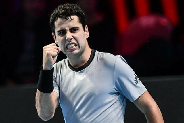 El prometedor tenista mallorquín Jaume Munar