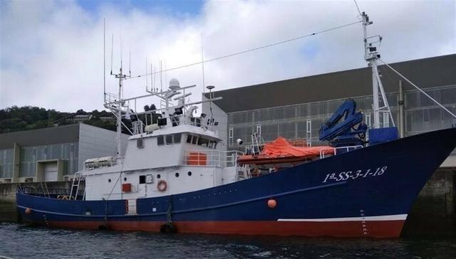 El buque de rescate 'Aita Mari' (Foto: Europa Press)