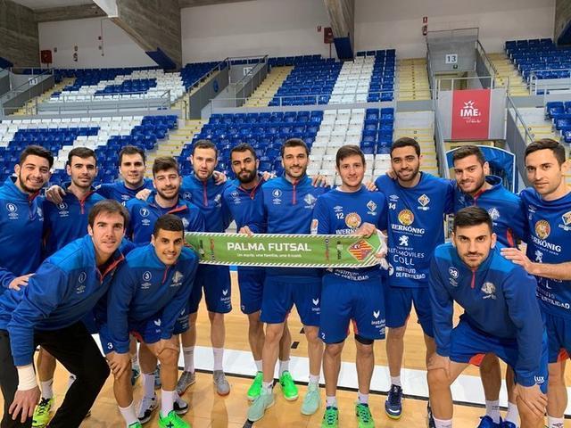 Los mallorquines quiere exhibir su mejor versión para superar al actual segundo clasificado (Foto: Palma Futsal)