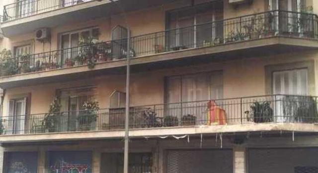 El fuego llegó hasta el cuarto piso (Foto: Mallorca Confidencial)
