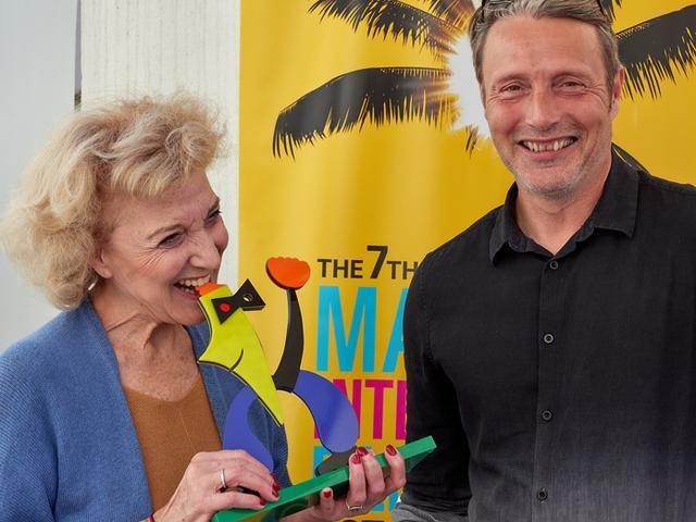 Marisa Paredes y Mads Mikkelsen, dos de los premiados en 2018