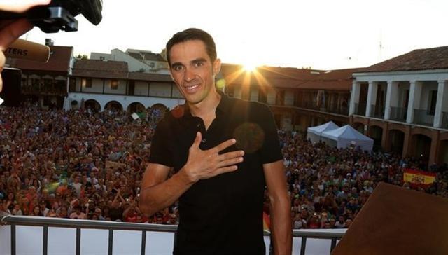 El excorredor madrileño Alberto Contador (Foto: Europa Press)