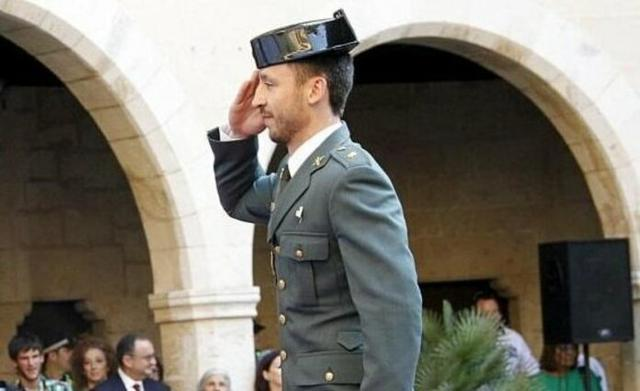 El comandante de la Guardia Civil de Tráfico de Baleares, Francisco José Domingo González (Foto: Twitter @APROGC)