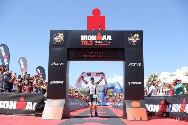 El checo Karel Zadák ha sido el vencedor en la categoría masculina (Foto: Ironman Media)