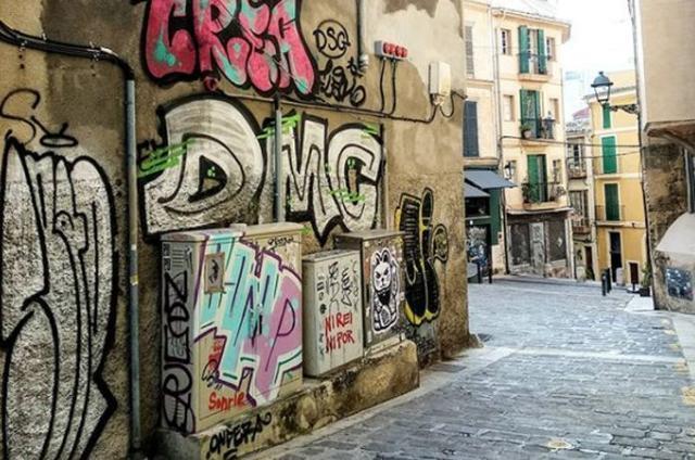 Una auténtica vergüenza en el centro de Ciutat (Foto: Instagram ARCA)