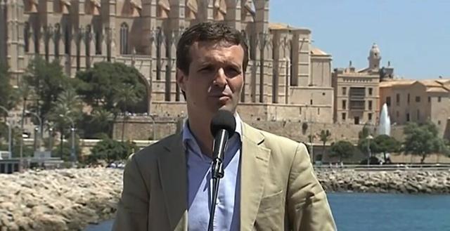 El líder popular, Pablo Casado (Foto: Europa Press)