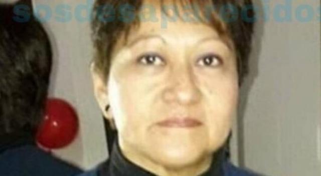 La desaparecida Gloria Francisca Zavala (Foto: SOS Desaparecidos)