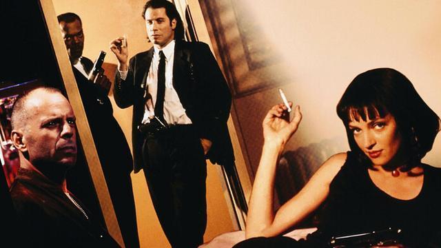 Samuel L. Jackson, John Travolta, Bruce Willis y Uma Thurman, algunos de los protagonistas de la cinta