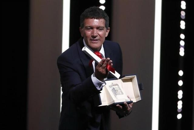 Antonio Banderas, premio al mejor actor en el Festival de Cannes