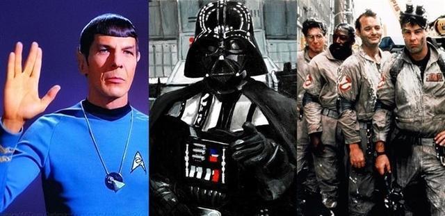 El comandante Spock, Darth Vader y Los Cazafantasmas, tres íconos de la cultura friki