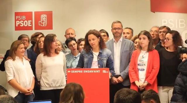 La candidata del PSIB al Consell de Mallorca, Catalina Cladera