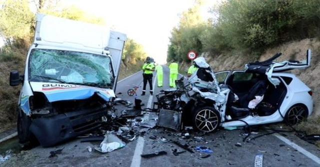 Imagen del accidente en el que perdió la vida un hombre en Muro a principios de este verano (Foto: Archivo)