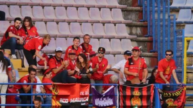 El Mallorca no ha estado solo en Almendralejo (Foto: LFP)